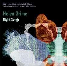 Helen Grime (geb. 1981): Klarinettenkonzert, CD