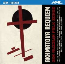 John Tavener (1944-2013): Akhamatova Requiem, CD