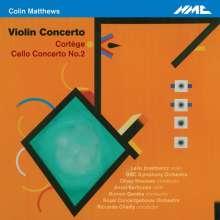 Colin Matthews (geb. 1946): Violinkonzert, CD