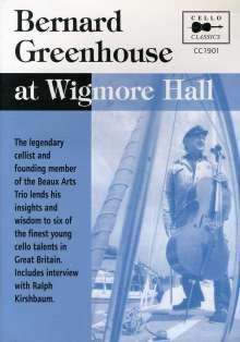Bernard Greenhouse - 90th Year Masterclasses at Wigmore Hall, DVD