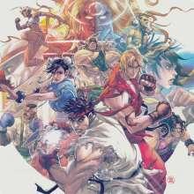 Capcom Sound Team: Filmmusik: Street Fighter III: Collection (remastered) (180g), 4 LPs