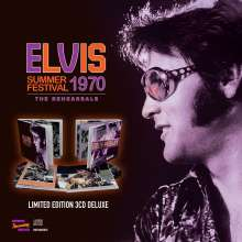 Elvis Presley (1935-1977): Summer Festival 1970: The Rehearsals (Limited Edition), 3 CDs