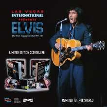 Elvis Presley (1935-1977): Las Vegas International: The First Engagements 1969 - 1970, 3 CDs