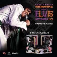 Elvis Presley (1935-1977): Las Vegas International: September 1970 (Limited Edition), 2 CDs