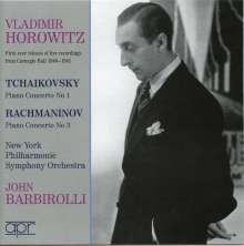 Vladimir Horowitz spielt Klavierkonzerte, CD