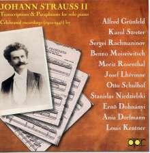 Johann Strauss II (1825-1899): Klavier-Transkriptionen, CD