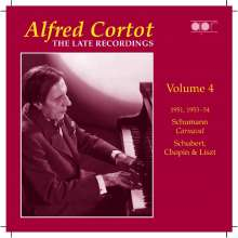 Alfred Cortot - The Late Recordings Vol.4, CD