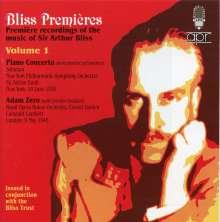 Arthur Bliss (1891-1975): Klavierkonzert, CD
