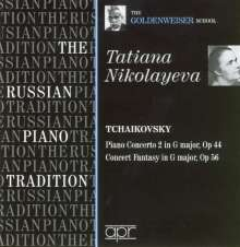 Tatiana Nikolayeva spielt Klavierkonzerte, CD