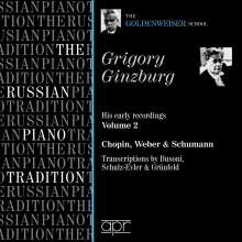 Grigory Ginzburg - His early Recordings Vol.2, CD