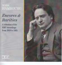 Mark Hambourg - Encores & Rarities, 2 CDs