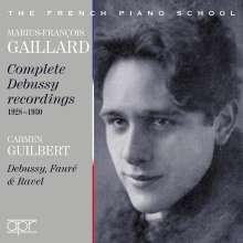 Marius-Francois Gaillard - Complete Debussy Recordings, 2 CDs