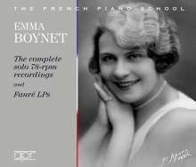 Emma Boynet - The complete solo 78-rpm recordings and Faure LPs, 2 CDs