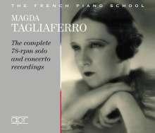 Isaac Albeniz (1860-1909): Magda Tagliaferro - The complete 78rpm solo and concerto recordings, 3 CDs