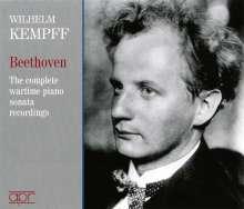 Wilhelm Kempff - Beethoven, 4 CDs