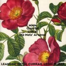 Joelle Leandre, Fred Frith, Alvin Curran & Urs Leimgruber: MMM Quartet: Live At The Metz Arsenal 2009, CD