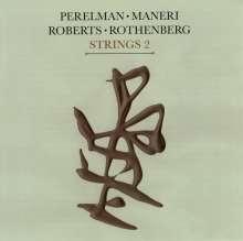 Ivo Perelman, Mat Maneri, Hank Roberts & Ned Rothenberg: Strings 2, CD