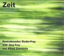 Kontrabassduo Studer-Frey: Zeit, CD