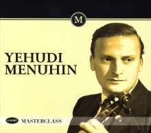 Yehudi Menuhin - Masterclass, 3 CDs