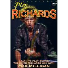 Max Milligan: Learn To Play The Keith Richards Way, DVD