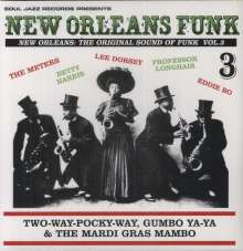 New Orleans Funk - New Orleans: The Original Sound of Funk Vol. 3, 2 LPs