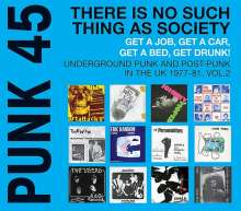 Punk 45: There Is No Such Thing As Society Vol. 2 (180g) (Limited Edition), 2 LPs