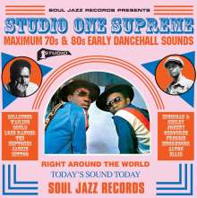 Soul Jazz Records Presents: Studio One Supreme - Maximum 70s & 80s Early Dancehall Sounds, 3 LPs