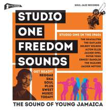 Soul Jazz Records Presents: Studio One Freedom Sounds, 2 LPs