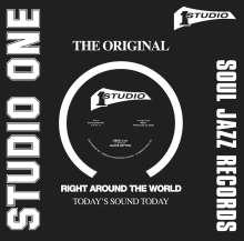 """Jackie Mittoo: Oboe/Wall Street, Single 12"""""""