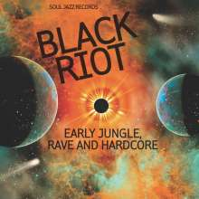 BLACK RIOT: Early Jungle,Rave and Hardcore, 2 LPs