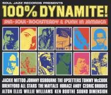 Soul Jazz Records Presents: 100% Dynamite!-Ska,Soul,Rocksteady & Funk In Jamaica, CD