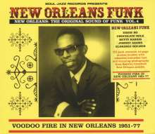 New Orleans Funk 4: Voodoo Fire In New Orleans 1951 - 1977, CD