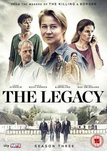 The Legacy Season 3 (UK-Import), 3 DVDs