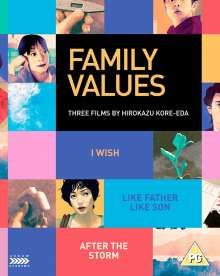 Family Values:  Three Films By Hirokazu Koreeda (Blu-ray & DVD) (UK Import), 3 Blu-ray Discs