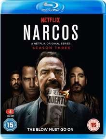 Narcos Season 3 (Blu-ray) (UK Import), 3 Blu-ray Discs