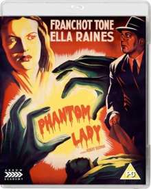 Phantom Lady (1944) (Blu-ray) (UK Import), DVD