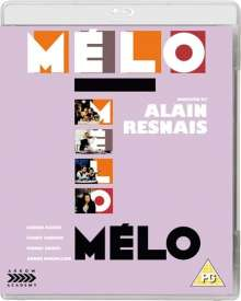 Melo (1986) (Blu-ray) (UK Import), Blu-ray Disc