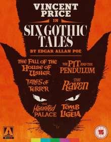 Six Gothic Tales by Edgar Allan Poe (Blu-ray) (UK Import), 6 Blu-ray Discs