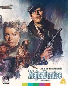 Major Dundee (1965) (Blu-ray) (UK Import), 2 Blu-ray Discs
