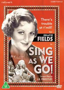 Musical: Sing As We Go! (1934) (UK Import), DVD