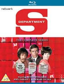 Department S Season 1-4 (Complete Series) (Blu-ray) (UK Import), 6 Blu-ray Discs