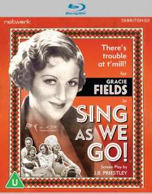 Musical: Sing As We Go! (1934) (Blu-ray) (UK Import), Blu-ray Disc