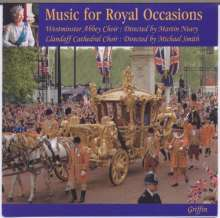 Westminster Abbey Choir & London Brass - Music for Royal Occasions, CD