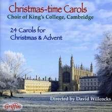 Choir of King's College Cambridge: Christmas-Time Carols, CD