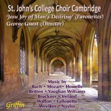 St.John's College Choir Cambridge - Jesu Joy of Man's Desiring' (Favourites), CD