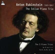 Anton Rubinstein (1829-1894): Klaviertrios Nr.1-5, 2 CDs