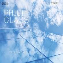 "Philip Glass (geb. 1937): Klavierwerke ""Mad Rush"" (180g), 2 LPs"