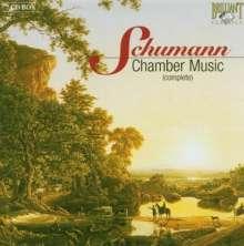 Robert Schumann (1810-1856): Kammermusik, 7 CDs