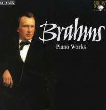 Johannes Brahms (1833-1897): Klavierwerke, 6 CDs
