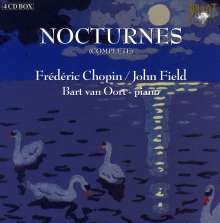 Frederic Chopin (1810-1849): Nocturnes Nr.1-21, 4 CDs